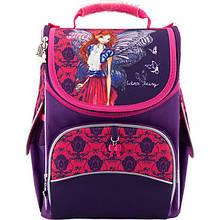 Рюкзак школьный с ортопедической спинкой  каркасный Kite Winx Fairy couture W18-501S  для первоклассника