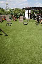 Искусственная декоративная ландшафтная трава 15 мм, фото 3