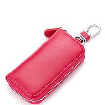 Ключниця. Чохол для ключів. Рожева, червона, блакитна, червона, чорна, фото 2