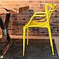 Стул Masters pp-601 Flower yellow желтый, дизайнер Филипп Старк, фото 3
