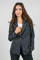 Пиджак женский классический 37P007 (Темно-синий)