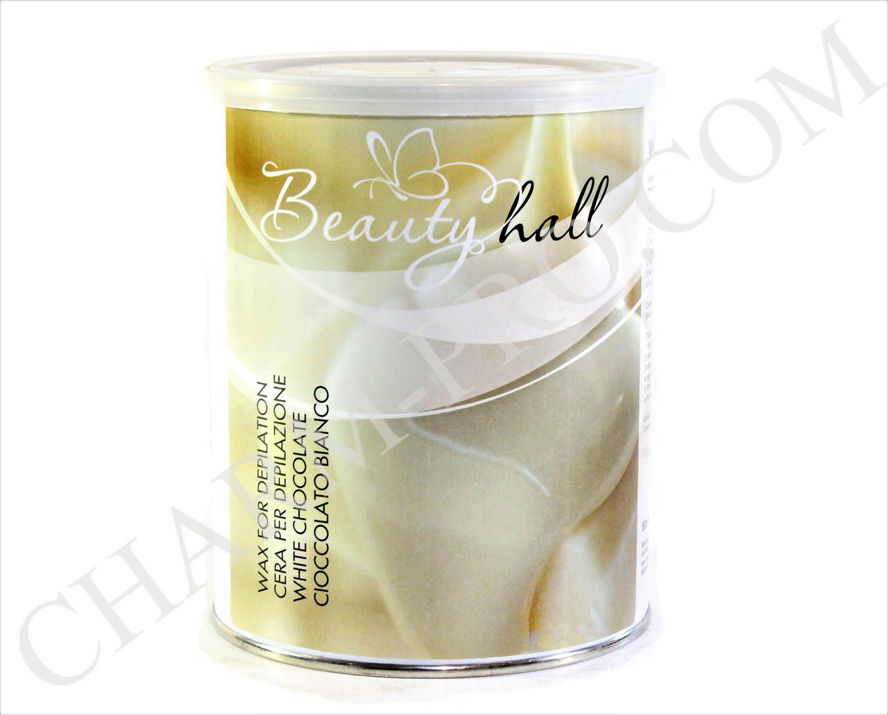 Воск баночный Beauty Hall Белый шоколад (800мл)