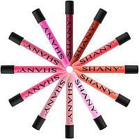 Блеск для губ Shany lip gloss с витамином Е и алоэ Вера, цвета в ассортименте