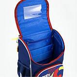 Рюкзак школьный с ортопедической спинкой  каркасный Kite FC Barcelona BC18-501S для первоклассника, фото 8