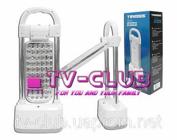 Настольная лампа, светодиодный фонарик TIROSS TS-54