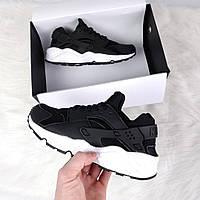Женские спортивные кроссовки Nike black, фото 1