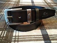 Ремни Lacoste с коробком, натуральная кожа, мужские кожаные ремни lacoste, брендовые кожаные ремни, Турция