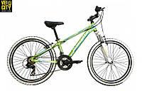 """Велосипед подростковый Mascotte Team 24"""" зеленый, фото 1"""