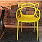 Стул Masters pp-601 Flower yellow желтый, дизайнер Филипп Старк, фото 2