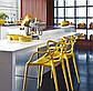 Стул Masters pp-601 Flower yellow желтый, дизайнер Филипп Старк, фото 5