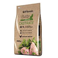 Fitmin cat Purity Castrate Фитмин Корм для кастрированных и стерилизованных кошек, 400 г