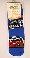 Махровые носки с силиконовыми наклейками спорт машинки, фото 1