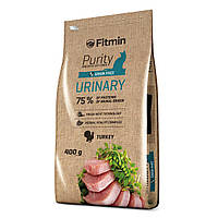 Fitmin cat Purity Urinary Фитмин Корм для кошек профилактика болезней мочекаменной системы, 400 г