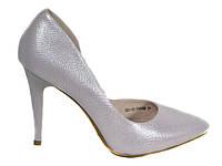 Туфли классические на шпильке Magnori цвет пудра