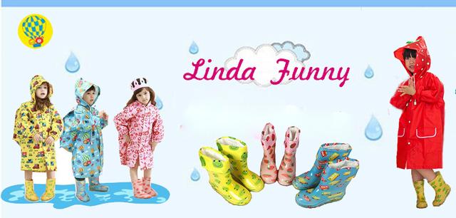 Детские дождевики для мальчиков и девочек от Linda Funny