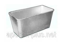 """Форма для выпечки хлеба """"Кирпичик"""" алюминиевая 700 грамм"""