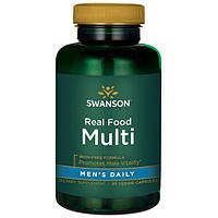 Для мужчин премиального качества натуральные витамины Whole Food вегетарианские 90 шт