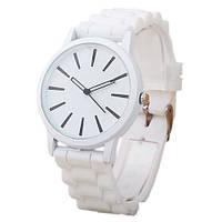 Часы  Geneva Classic - белые