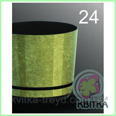 Квітковий горщик «Korad 24» 1.1 л
