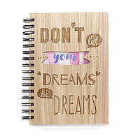 """Блокнот мотиватор """"Dreams"""" с цветным внутренним блоком, фото 1"""