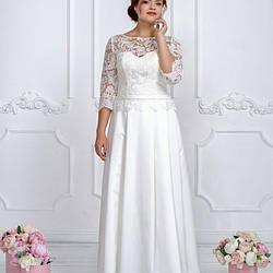 Свадебное платье Amour Bridal 48 р молочный