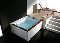 Гидромассажная ванна Golston G-U2607 правосторонняя, 1910x1590x770 мм