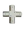 Соединение X 2WAYS Lemanso для трековых систем белое  LM515