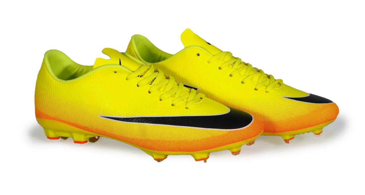 846d37cf Бутсы футбольные Nike CR7 (p.40-45) Volt/Black/Citrus: продажа, цена ...