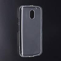 Силиконовый прозрачный тонкий чехол для Motorola Moto E2 (XT1505, XT1511, XT1524, XT1527)