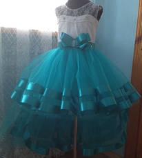 Дитяча бальне плаття для дівчаток 9-10 років., фото 3