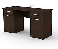 Учитель 2 письменный стол компанит письменный стол с двумя тумбами и двумя выдвижными ящиками