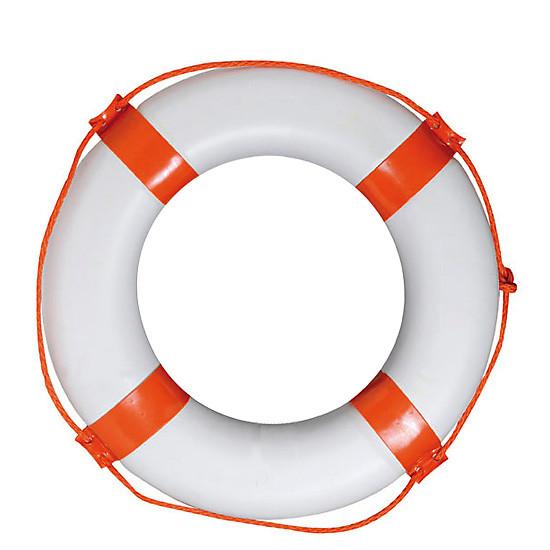 Круг спасательный диаметр 65х40мм красный 70003 для лодки, катера, яхты