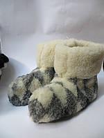 Чуни домашние на овчинной шерсти (№5)