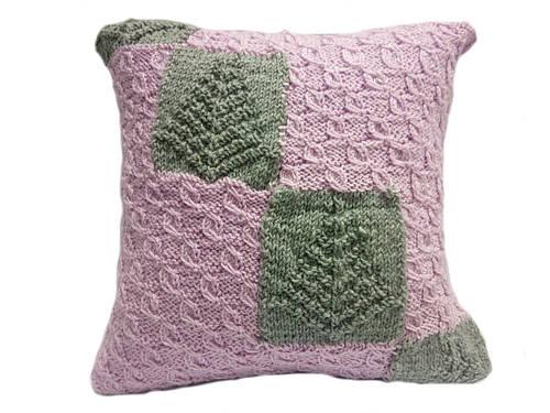 вязаные подушки наволочки ручная работа стеганые подушки