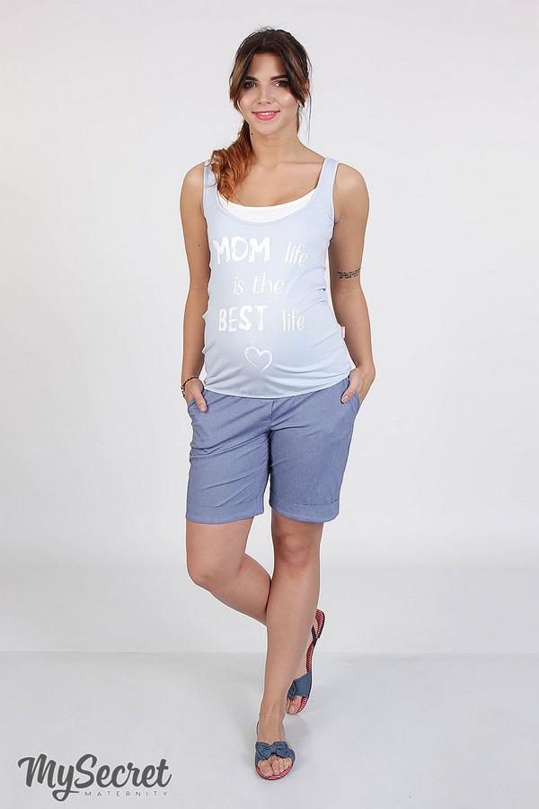 e8094d0e8e58 Шорты для беременных MARI, джинсово-синие, купить шорты для ...