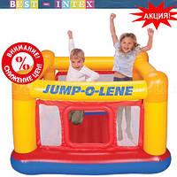 Intex 48260 (174х174х112 см.) Надувной игровой центр-батут Замок Playhouse Jump-O-Lene, фото 1
