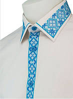 VIP. Строгие мужские и женские рубашки вышиванки. Официоз. Рубашечный крой