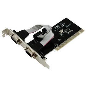 Контроллер PCI переходник на 2 RS232 DB9 COM-порта