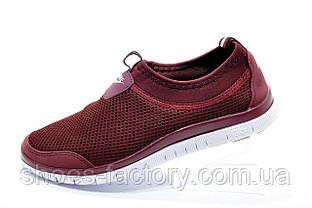 Кроссовки женские в стиле Nike Free Run 3.0, Бордо