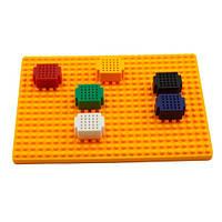 Набор: площадка с 6 макетными платами на 25 точек