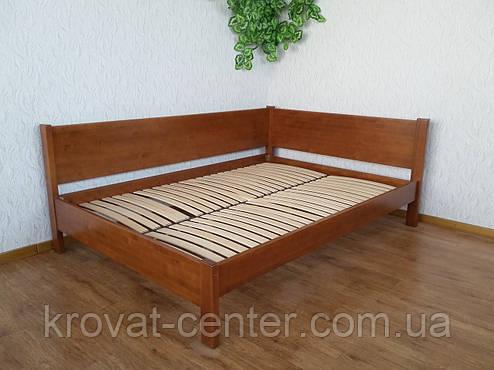 """Односпальная кровать """"Шанталь"""". Массив дерева - сосна, ольха, береза, дуб. , фото 2"""