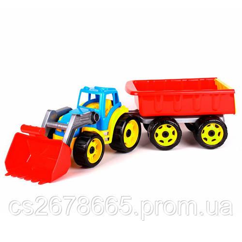 Трактор  с ковшом и прицепом 5079 Maximus