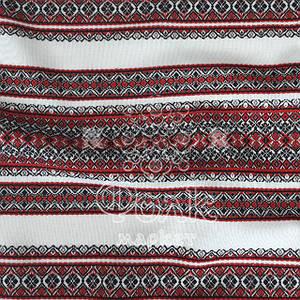 Ткань для штор с украинской вышивкой Анастасия ТДК-73 3/1