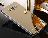 Силиконовый зеркальный чехол для Samsung Galaxy J7 j710 2016 (3 Цвета)