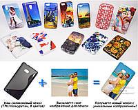 Печать на чехле для Nokia Lumia 810 (Cиликон/TPU)