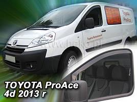 Дефлектори вікон (вітровики) Toyota ProAce4D 2013-> 2шт (Heko)