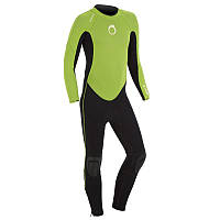 Гидрокостюм для серфинга Olaian 100 2/2 детский