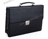 Мужской портфель 7232 черный Деловые портфели, пошив под заказ