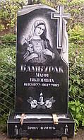 1.22. Памятник гранитный одинарный в христианских традициях