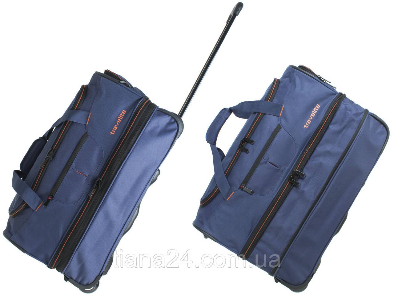 3a38b24a49ce Большая дорожная сумка на колесиках Travelite W172: продажа, цена в ...